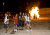 Bomberos y Protección Civil advierten de los riesgos en las hogueras de San Juan