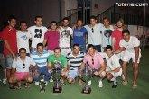 Entrega de trofeos de la Liga y la Copa de Futbol Aficionado 'Juega limpio'