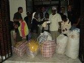 La ONG Anike Voluntarios entrega en el Congo 170 kilos de ropa para beb�s