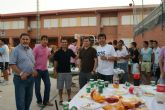 Las bases de ElPozo Murcia FS celebran la gran temporada en familia
