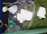 La Guardia Civil desmantela un importante punto de venta y distribución de cocaína en Moratalla