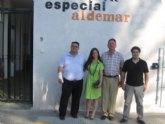 FEDER Murcia visita el centro Aidemar