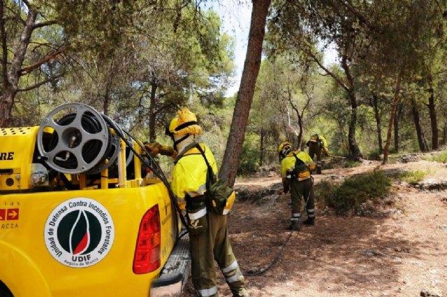 La Comunidad cuenta con una nueva Brigada de Intervención Rápida para la extinción de incendios forestales en Moratalla - 1, Foto 1