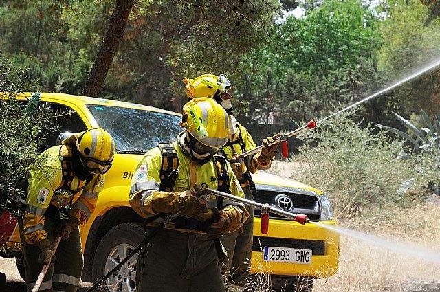 La Comunidad cuenta con una nueva Brigada de Intervención Rápida para la extinción de incendios forestales en Moratalla - 2, Foto 2
