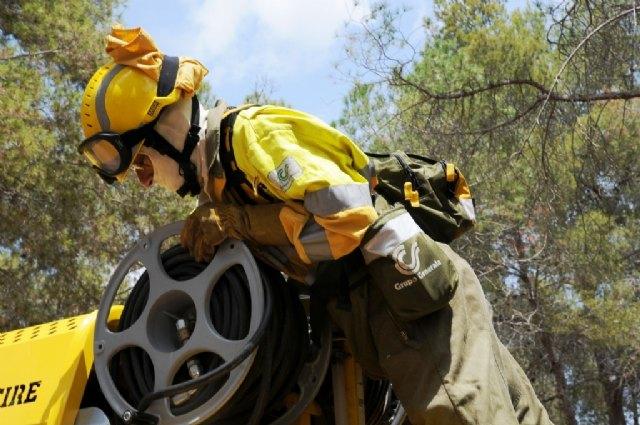La Comunidad cuenta con una nueva Brigada de Intervención Rápida para la extinción de incendios forestales en Moratalla - 3, Foto 3