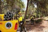 La Comunidad cuenta con una nueva Brigada de Intervención Rápida para la extinción de incendios forestales en Moratalla