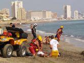 Rescatados quince bañistas durante el primer fin de semana de verano