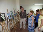 Clausura del curso de pintura de mayores