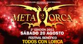 El METAL LORCA 2011 será un festival benéfico