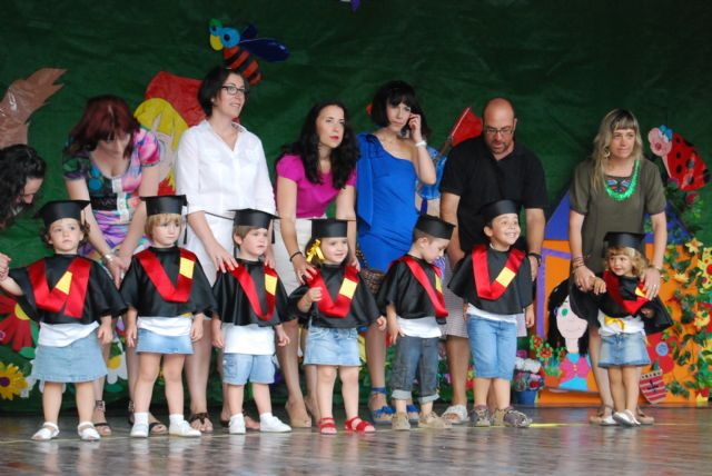 "Students of the Center for Child Care ""Gandía Patty Lewis"" shut the 2010/2011 academic year"