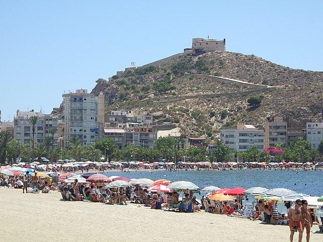 Organizan cursos gratuitos de talasoterapia en la playa. - 1, Foto 1