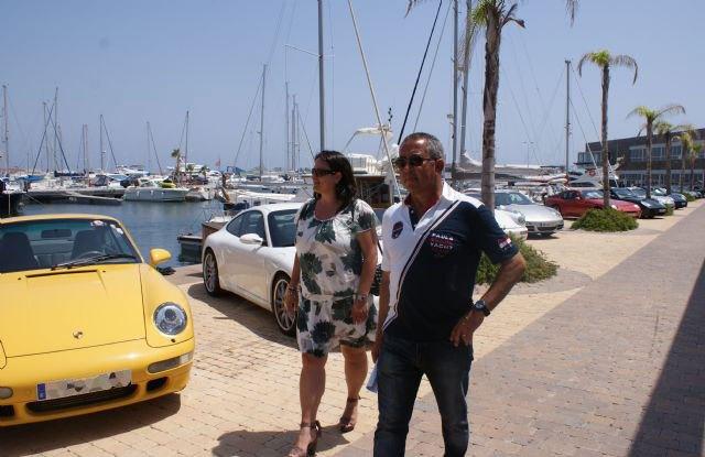Cerca de 100 porsches se concentran en el puerto deportivo Marina de Las Salinas - 1, Foto 1