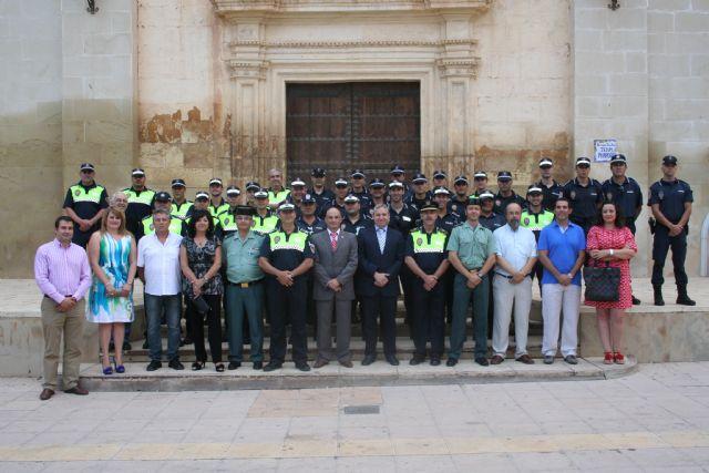 La Policía Local se presenta ante el nuevo alcalde, Foto 2