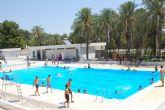Casi 400 alumnos toman parte este verano en los Cursos de Natación de Alguazas