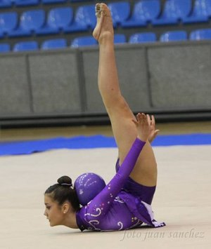 La pachequera Patricia Gómez Martínez consigue el oro en el Campeonato de España de gimnasia rítmica en la categoría de pelota - 1, Foto 1