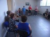 La concejal�a de Deportes clausura el programa de gimnasia de mayores del Paret�n