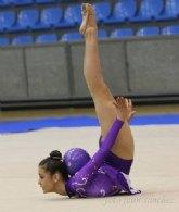 La pachequera Patricia Gómez Martínez consigue el oro en el Campeonato de España de gimnasia rítmica en la categoría de pelota