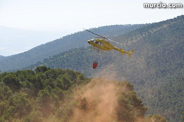 Alertan del índice de ignición muy alto en el interior de la Región de Murcia, Foto 1