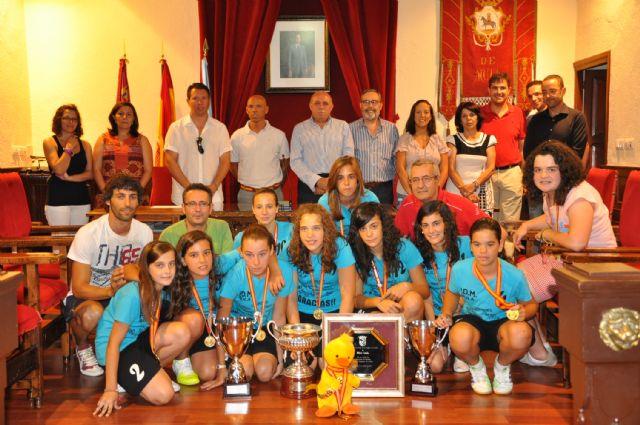 El Ayuntamiento de Mula rinde homenaje al PDM Mula Fútbol Sala Infantil Femenino - 1, Foto 1