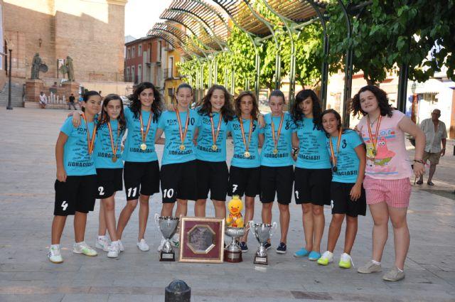 El Ayuntamiento de Mula rinde homenaje al PDM Mula Fútbol Sala Infantil Femenino - 3, Foto 3