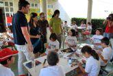 El alcalde del municipio, Alfonso Fernando Cer�n Morales, visita a los niños del Educaverano