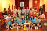 El Ayuntamiento de Mula rinde homenaje al PDM Mula Fútbol Sala Infantil Femenino