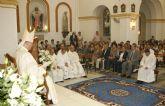 La Iglesia Nuestra Señora del Rosario de Puerto Lumbreras acogió una ordenación sacerdotal oficiada por el Obispo de la Diócesis de Cartagena, Monseñor José Manuel Lorca Planes