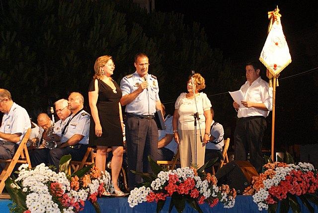 La banda de música de la Academia General del Aire honra a la patrona de los pescadores - 1, Foto 1