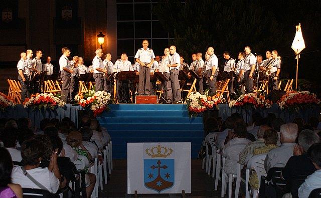 La banda de música de la Academia General del Aire honra a la patrona de los pescadores - 2, Foto 2