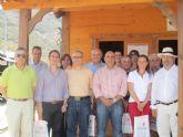 El cuerpo diplomático en la región visita el parque minero