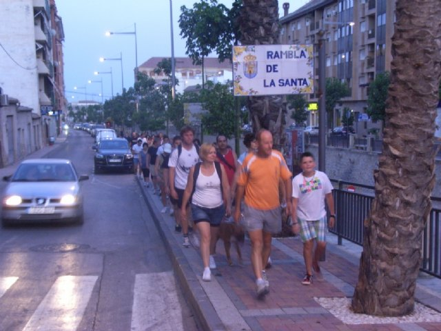 Successful participation and good atmosphere in the summer night walks organized by the Department of Sports