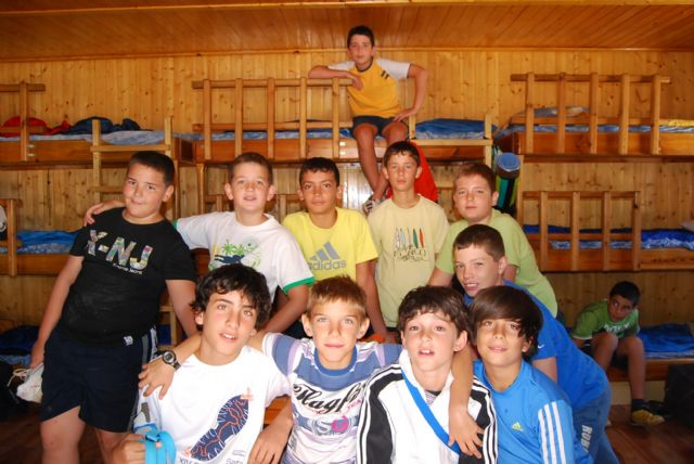 "Forty-five young people from Totana enjoy one week of the second round of the camps ""Nature's Classroom"""