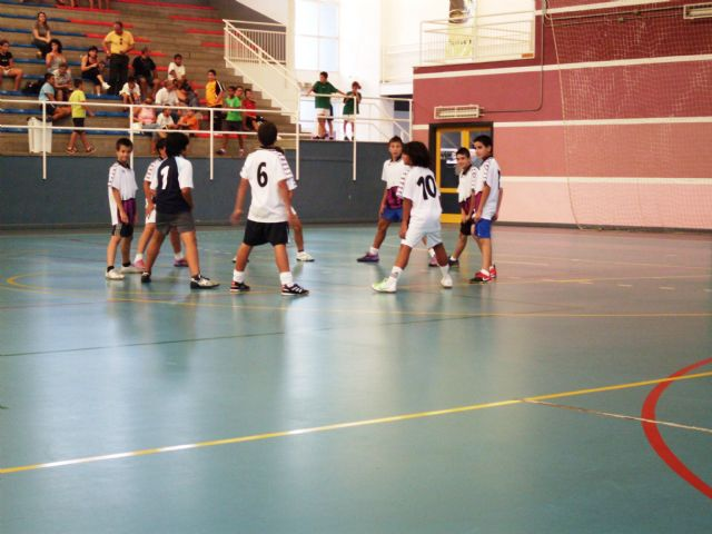 Mañana se disputa la final del campeonato de fútbol sala alevín, Foto 1