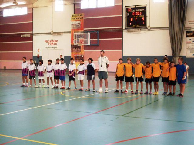 Mañana se disputa la final del campeonato de fútbol sala alevín, Foto 2