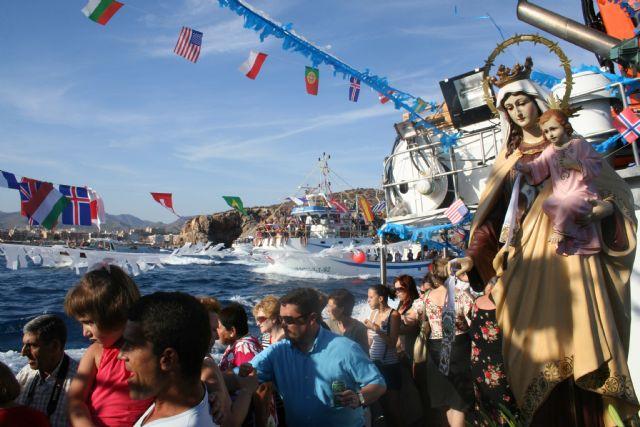 Multitidinaria celebración de la Virgen del Carmen, Foto 1