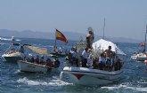 Miles de personas acompañan a la patrona de los pescadores en la romería de San Pedro del Pinatar