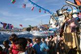 Multitidinaria celebraci�n de la Virgen del Carmen