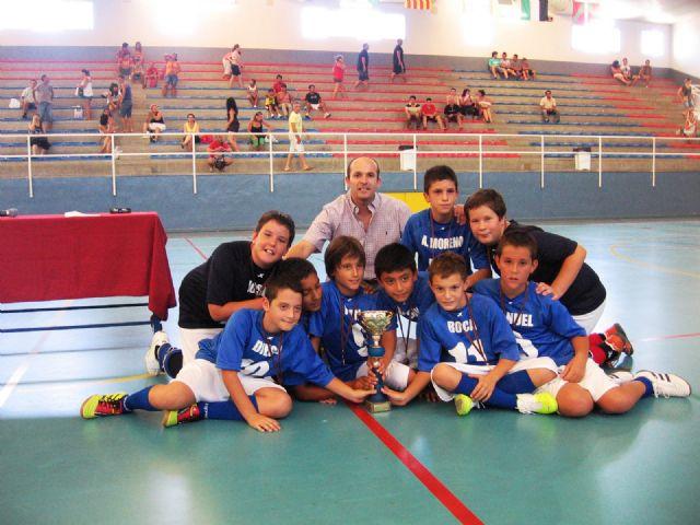 Los Dinamitas se llevan el torneo de verano de futbol sála alevín, Foto 2