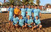 Los aguileños del Gran Liriana ganadores del IV Torneo de Fútbol Playa Bluesport