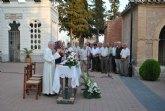 El Cementerio Municipal celebró la onomástica de 'Nuestra Señora del Carmen' con una misa para los difuntos