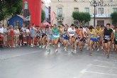 Más de 190 atletas han participado en la 'XXIV Milla Urbana Ciudad de Totana'