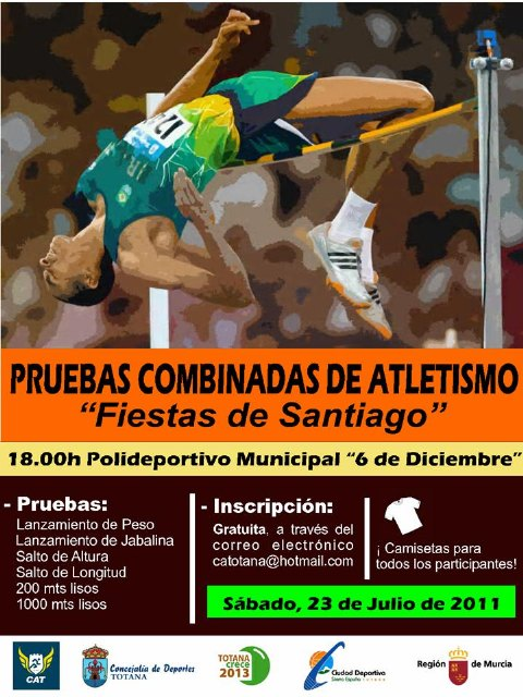 The next 23 will take place Saturday the Athletics Combined Events 2011