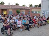 Los alumnos del Centro de Día 'José Moyá' clausuran las actividades del curso con un emotivo acto