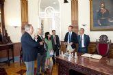 El embajador de Afganistán, en el Palacio Consistorial