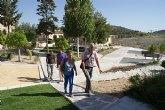 Visita al centro educativo de 'La Zarza'