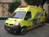 IU-Verdes exige una solución inmediata y definitiva al problema de la ambulancia municipal de emergencias y soporte básico, cediéndola a la Asamblea Local de Cruz Roja para su utilización