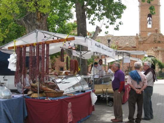 The Artisan Market, held every month in the hamlet of La Santa, will resume business the next September