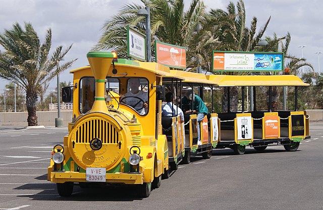 Un tren turístico gratuito recorre el centro de San Pedro, el Puerto Marina de Las Salinas y Lo Pagán - 3, Foto 3