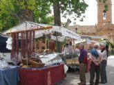 El Mercadillo Artesano, que cada mes se celebra en el paraje de La Santa, retomará su actividad el próximo mes de septiembre