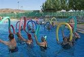 Nueva campaña de verano 2011 con actividades acuáticas saludables para las personas mayores